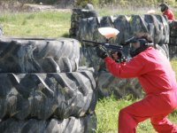 Francotirador tras las ruedas