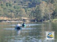 Navegando en canoas