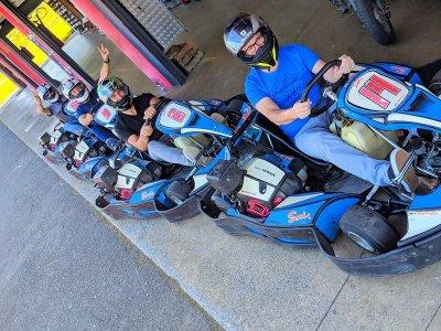 Sesión kart 390cc 10 minutos en Olaberria