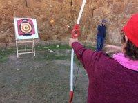 Flèche directe sur la cible
