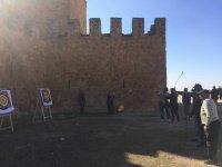 Tir à l'arc au château de Peñarroya