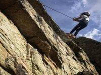 Bautismo de escalada y rappel en Torrelodones 4 h