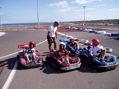 Karting para ni os open karting naviera armas cabrera - Cabrera medina puerto del carmen ...