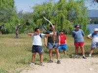 Aim round in Los Yébenes