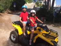En quad Outlander amarillo