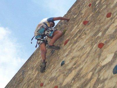 阿尔巴塞特2小时的攀岩课程