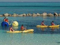 Viaggio lungo la costa in kayak