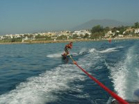 Practice wakeboard in Marbella