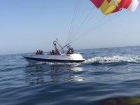 2016 Aquatime标志拖动滑翔伞滑伞运动