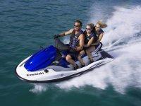 Guidare una moto d'acqua