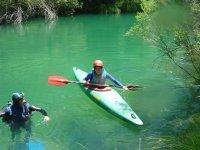 皮艇皮划艇体验aquaventur标志