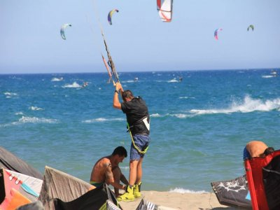 Kitesurfing Baptism for Couples in Málaga - 2h