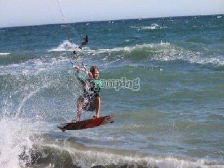 kitesurfing en Torremolinos