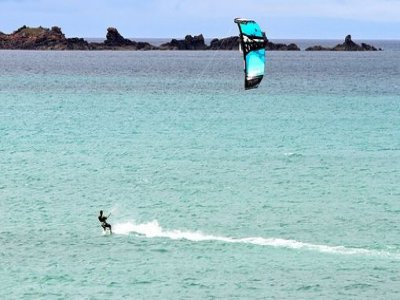 Kiteboarding induction course for groups - 8 h