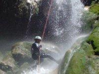 discesa delle cascate