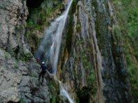 discesa in cascata tra le cascate