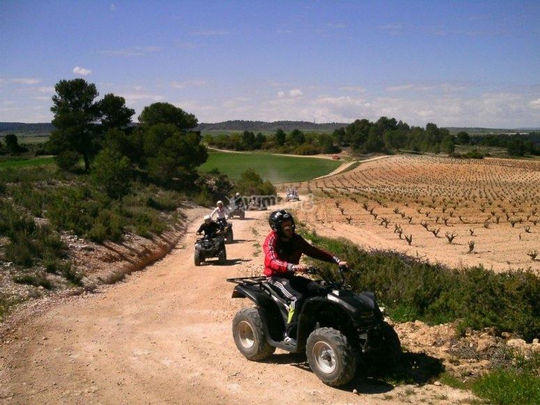 Excursiones en quads