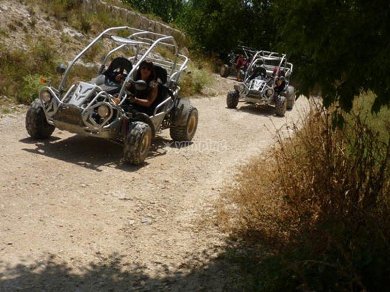 Excursión en buggy por el valle Júcar