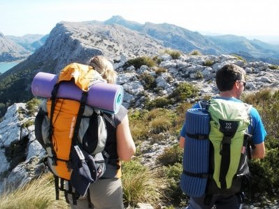 Hiking route average difficulty in Majorca