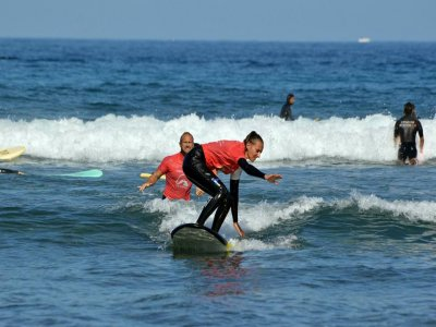 2 hours surfing lessons in Tenerife
