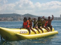 Divertido banana boat