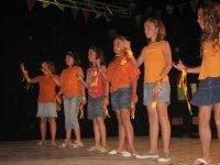 Actuación de los niños