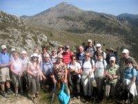 Group of trekkers