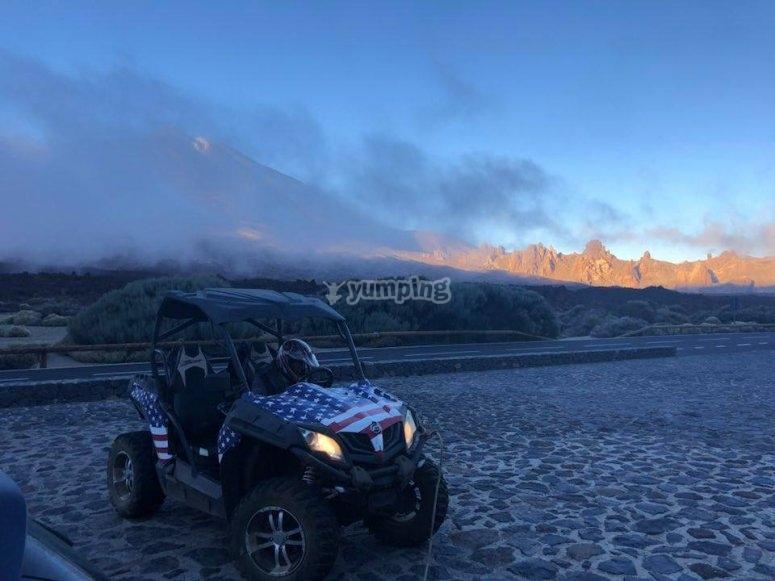 Buggy a los pies del Teide