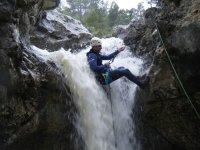 descenso cascada