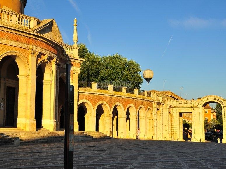 Vuelo en globo en Aranjuez