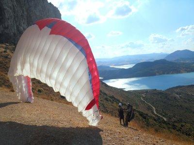 Vuelo en parapente biplaza Málaga y Granada 30min