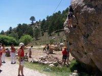 Iniciación a la escalada en Cuenca