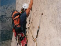 arrampicata sull'arancio dei bulnes