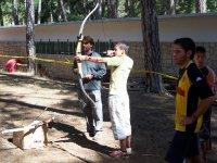 Iniciación al tiro con arco
