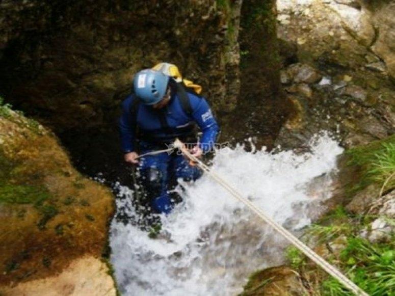 Sorteando las aguas