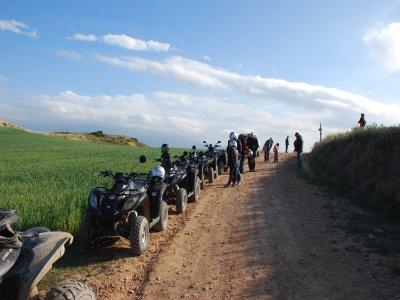Tour in quad a Tarazona e Sima Aines 3 ore