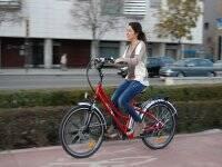 tranquilamente en bici