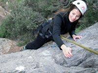 Sesión de escalada en Mallorca