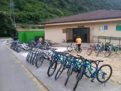 Mountain bike rental, Senda del Oso half day