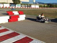 Kart a due posti con il piccolo