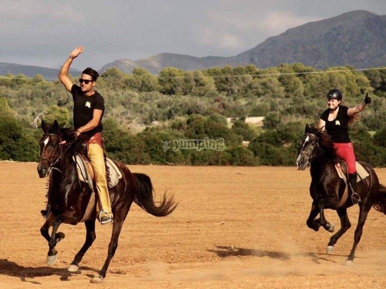 Passeggiate a cavallo a Maiorca