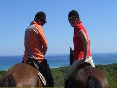 Passeggiata a cavallo attraverso Santa Margalida, 3 ore