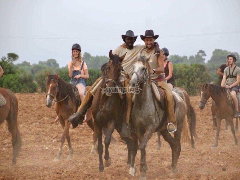 Cowboy a Minorca