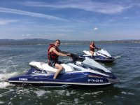 Driving the jet skis individually