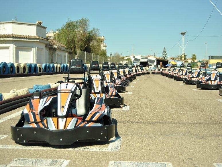 Karting in Torrevieja - Honda 400cc