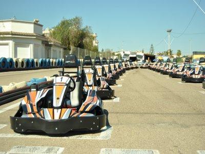 Sessione di go-kart alla Honda 400cc, Torrevieja