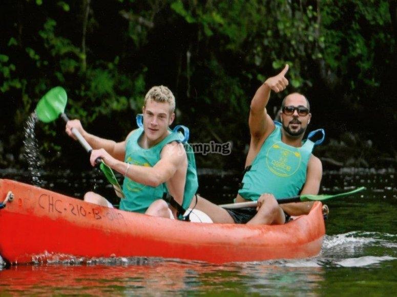 Paseo en canoa Ribadesella