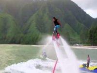Salto de altura con el FlyBoard