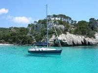Sail through critaline waters