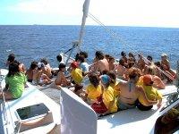 Catamaran para 22 personas